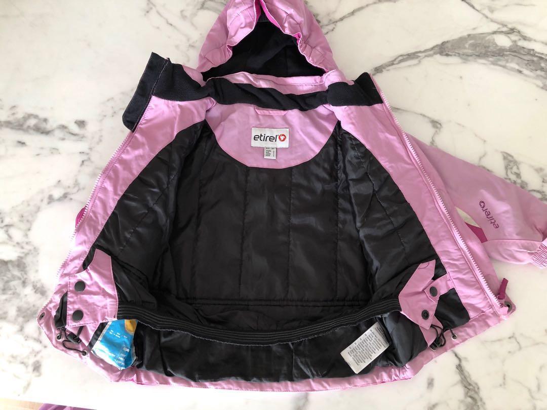 Girls ski jacket (pink)