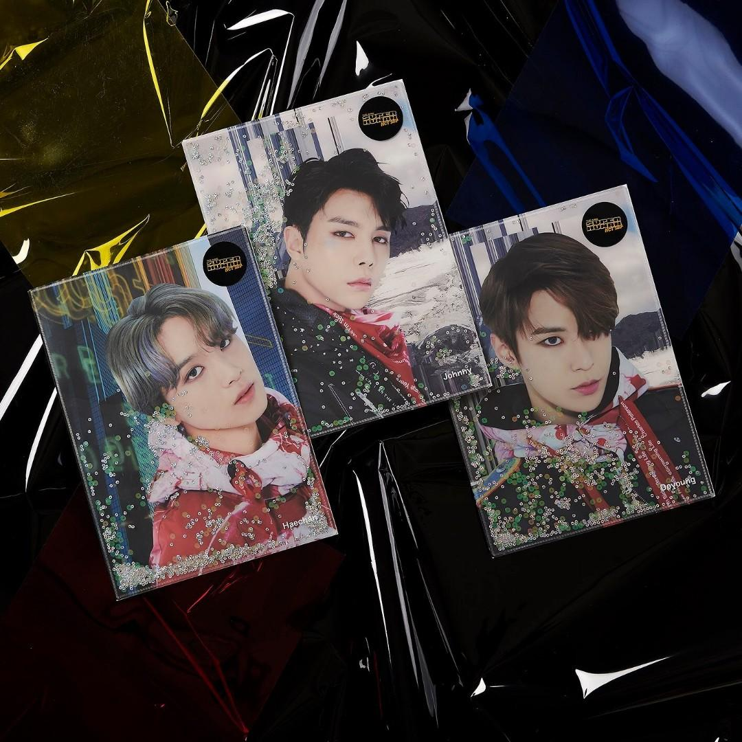 [GO] NCT 127 We Are Superhuman Official Goods: Glitter Holders B