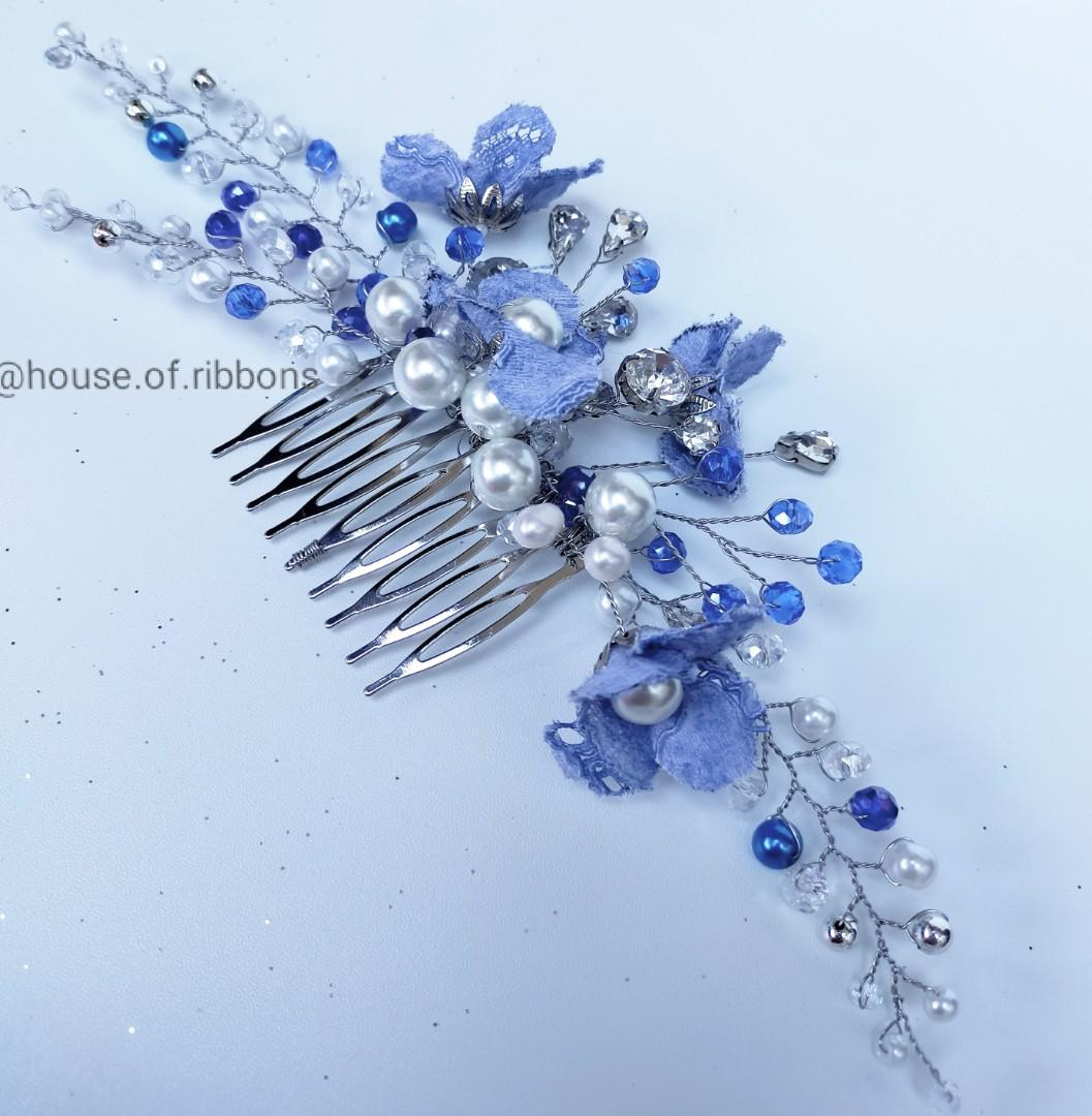 Headpiece sirkam with lace