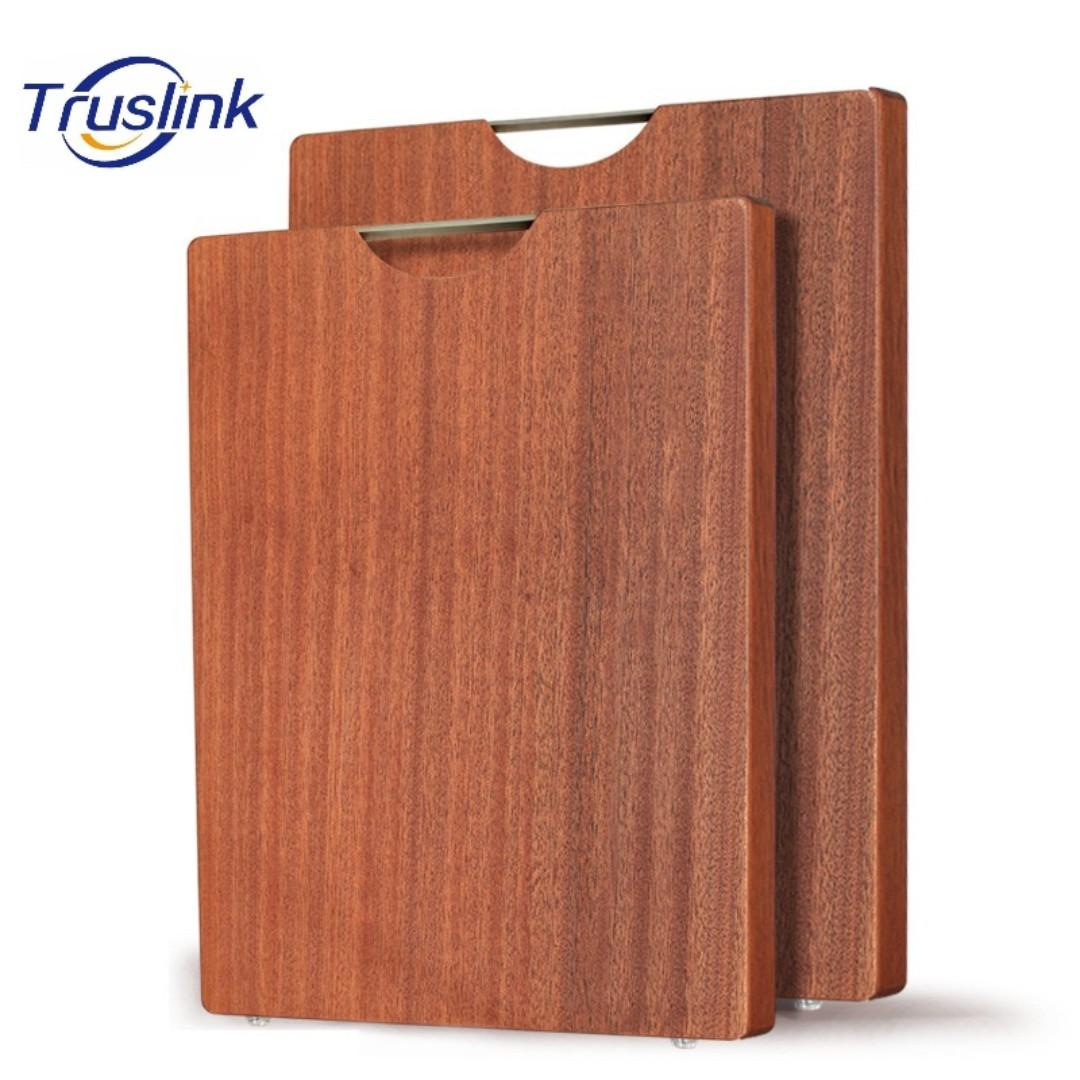 High Quality Kitchen Chopping Board Ebony Wood Meat Vegetable Cutting Board Pure Wood Cutting Board Anti Bacterial Anti-Crack Anti-Moldy Health Choice Rectangular Shape