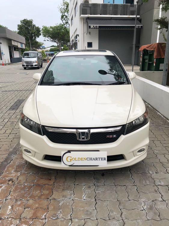 Honda Stream 1.8 Avail For Rent! Weekly gojek rental rebate, personal use can rent with us!