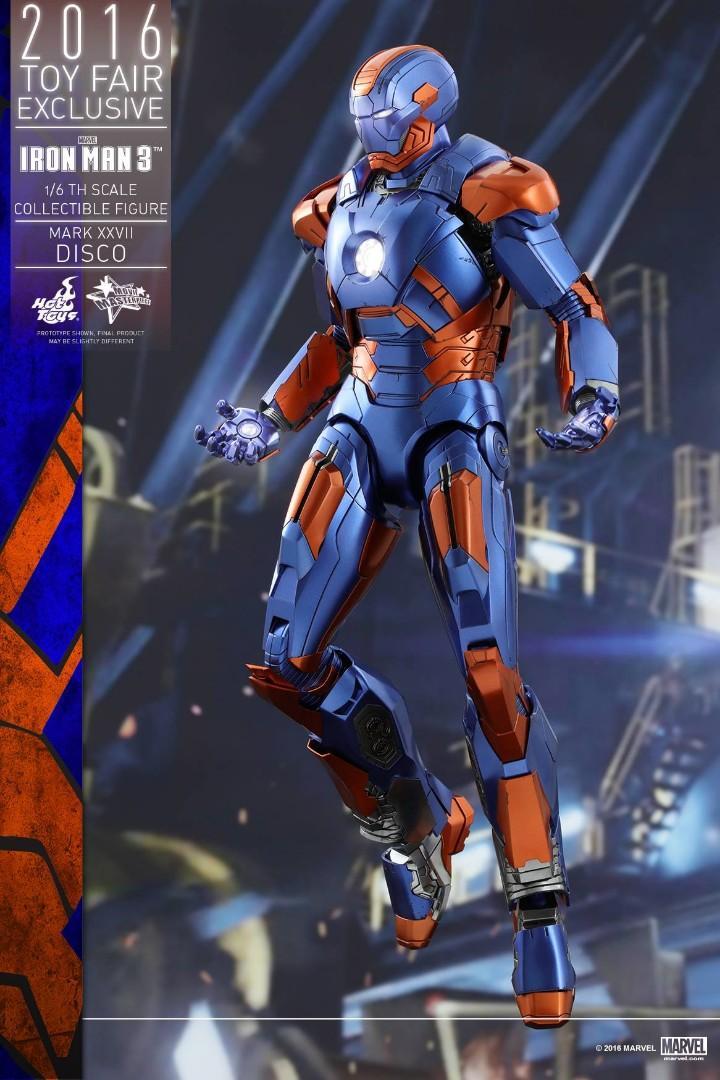 Hot toys iron Man disco ironman