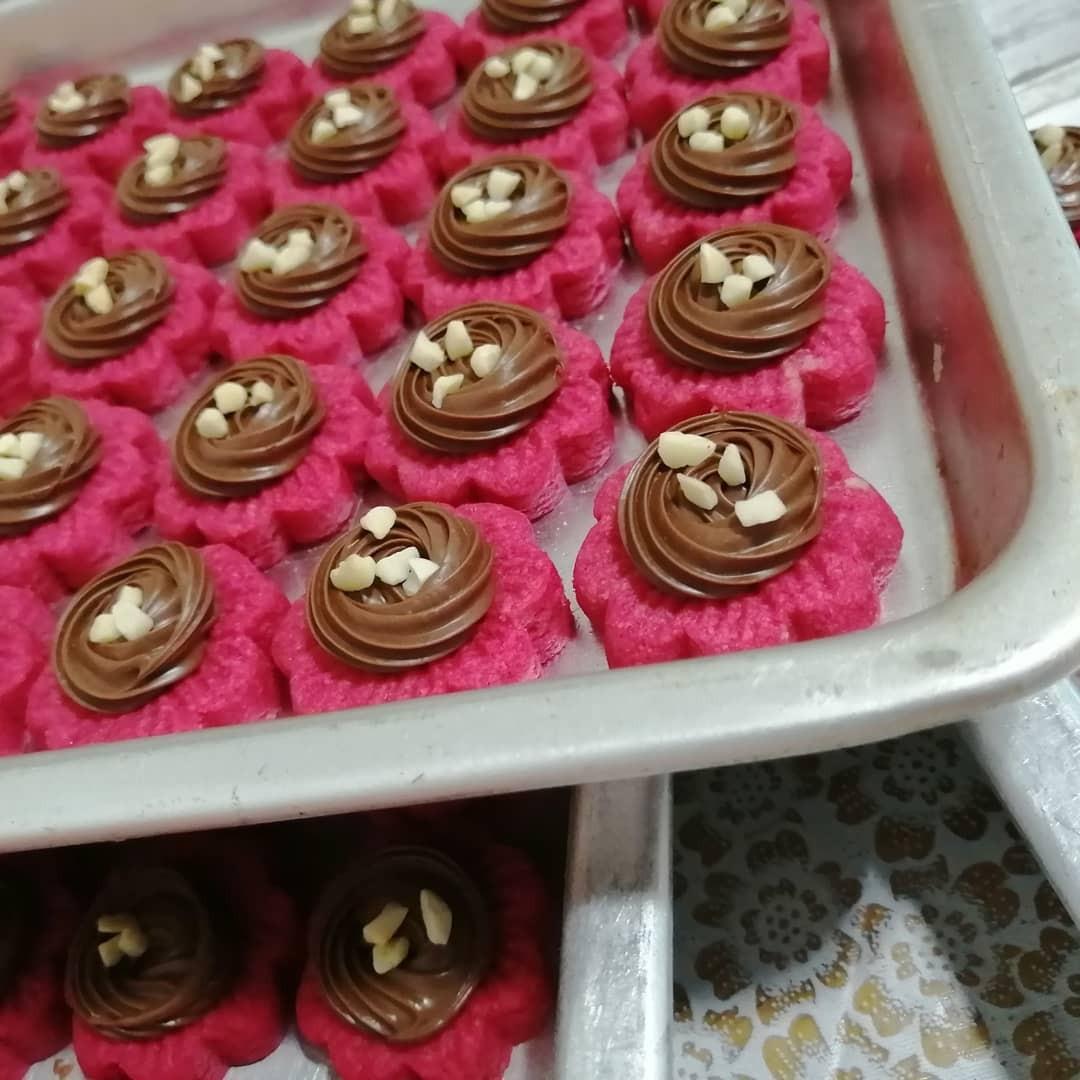 Instock Red Velvet Tart, Nutella Tart, Cadbury Tart