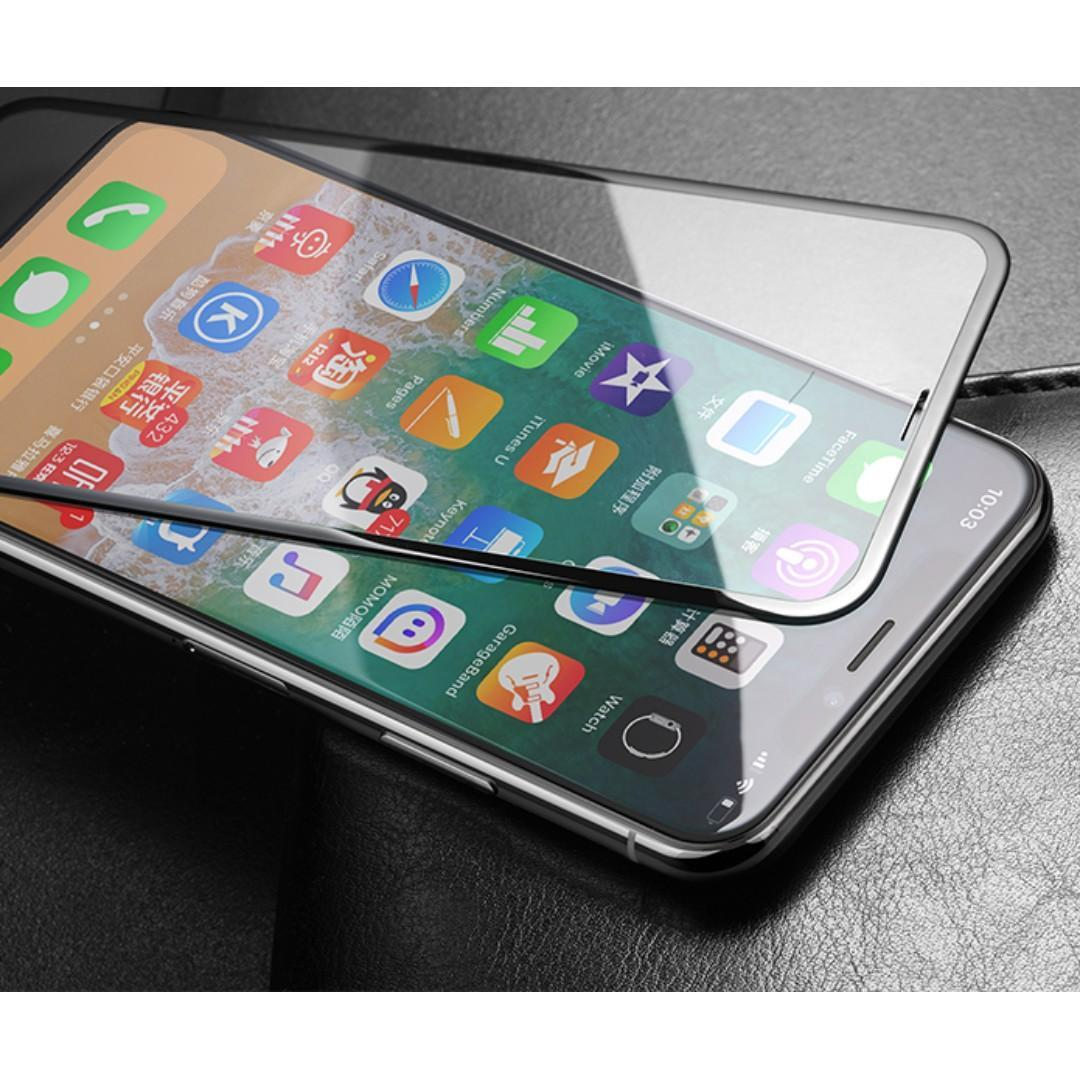 Full 9H Tempered Glass Screen Protector for iPhone