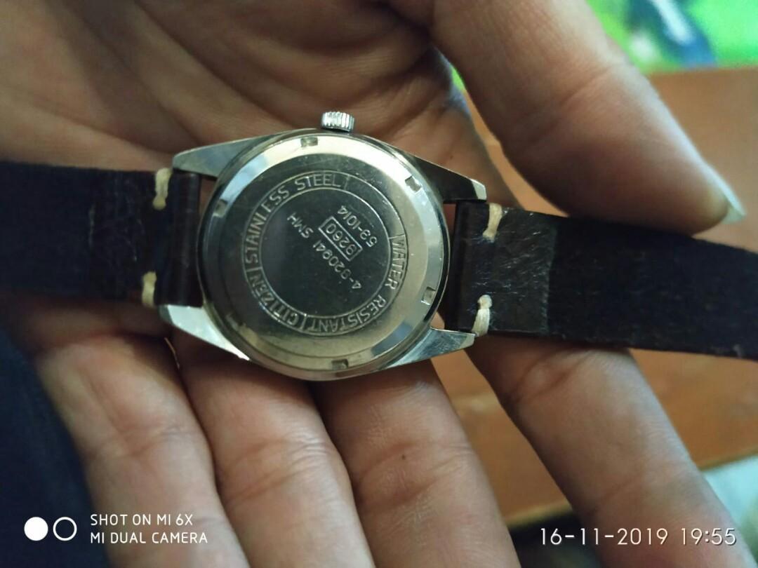 Jam tangan pria Citizen 8260 manual winding
