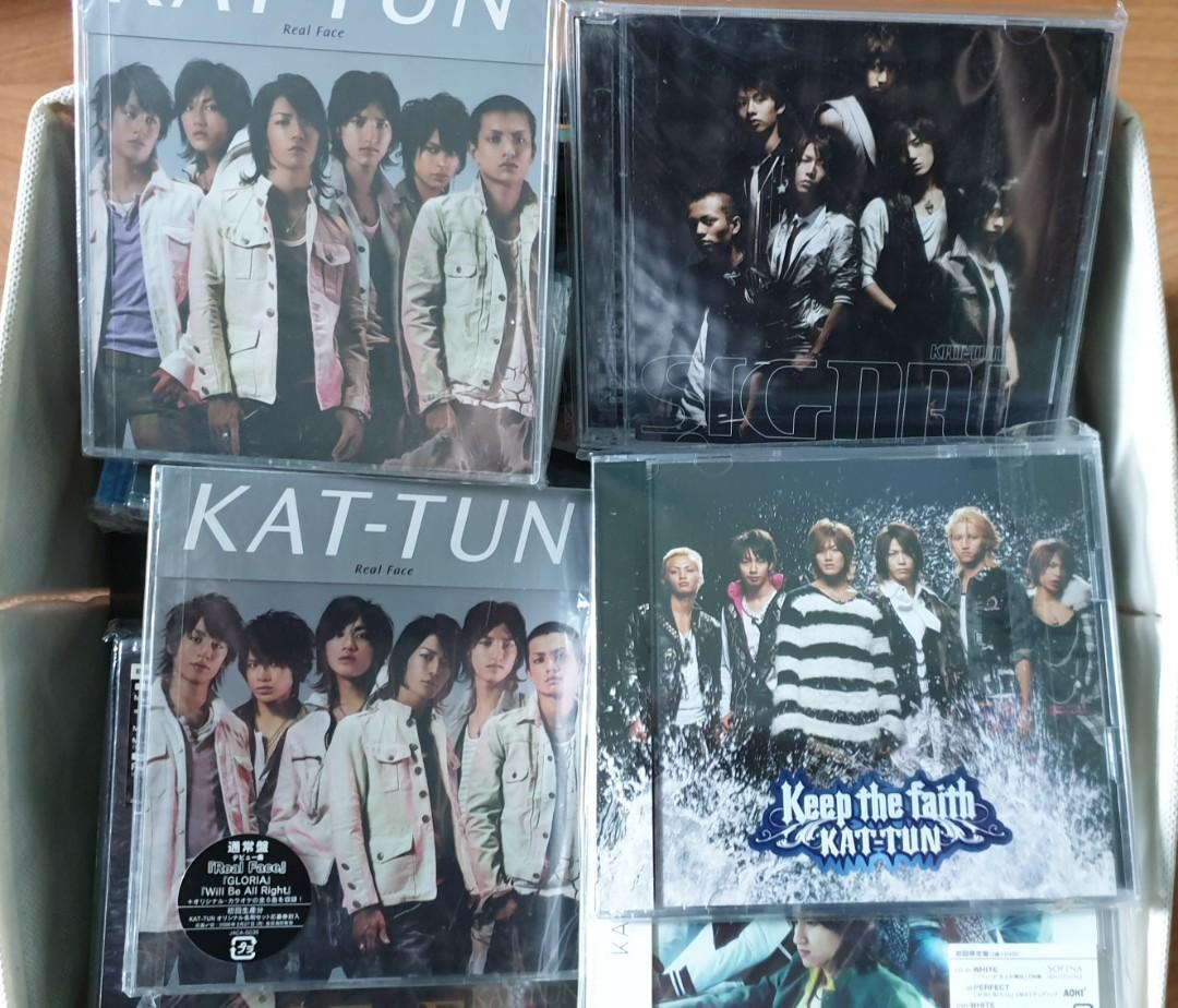 KAT-TUN CDs and DVDs - SINGLE, ALBUM, CONCERT DVD FROM YEAR 2006 TO 2016 (ALL ORIGINAL FROM JAPAN)