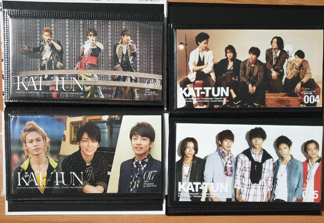 KAT-TUN NEWSLETTER 01-18 WITH NEWSLETTER COVER (ALL ORIGINAL FROM JAPAN)