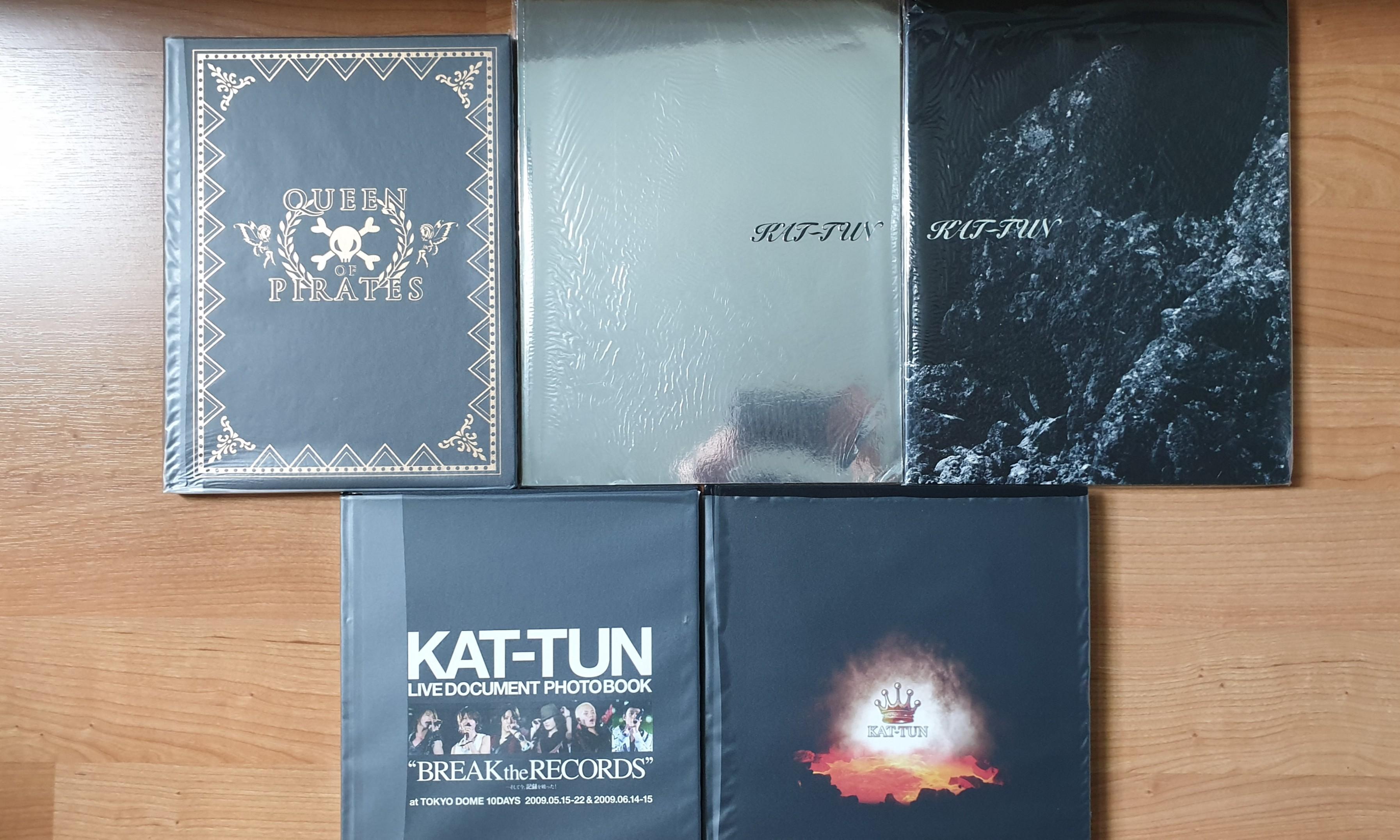 KAT-TUN PAMPHLET YEAR 2003 - 2016 (ALL ORIGINAL FROM JAPAN)