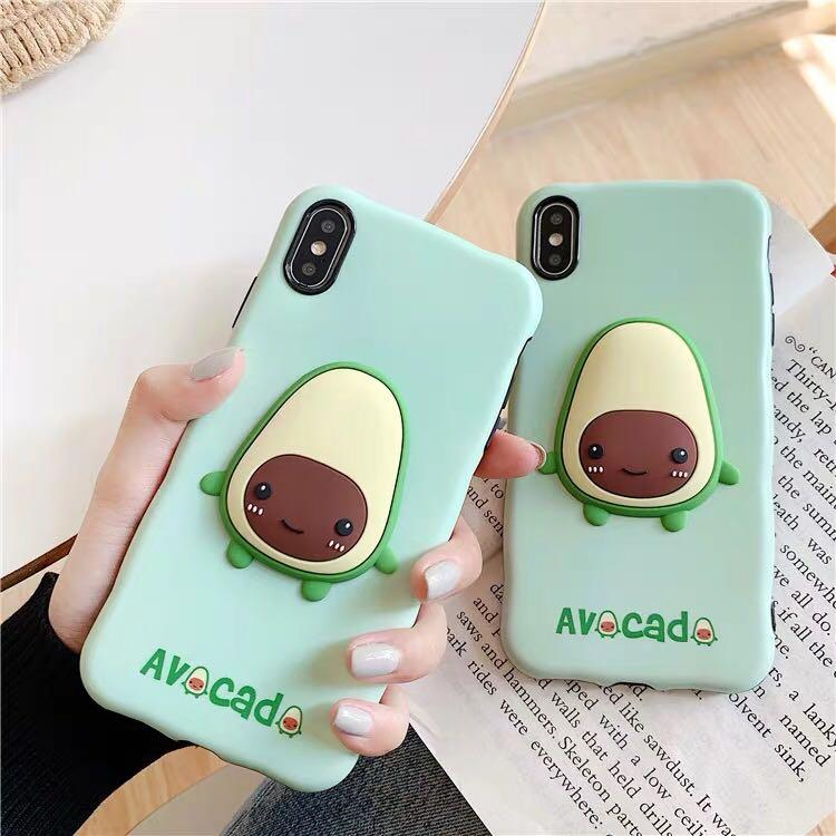 Korean Ulzzang Avocado Phone Case