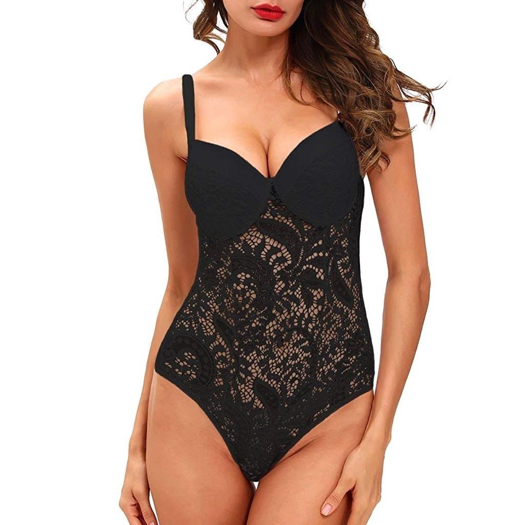 Lace Lingerie bodysuit sleepwear nightwear
