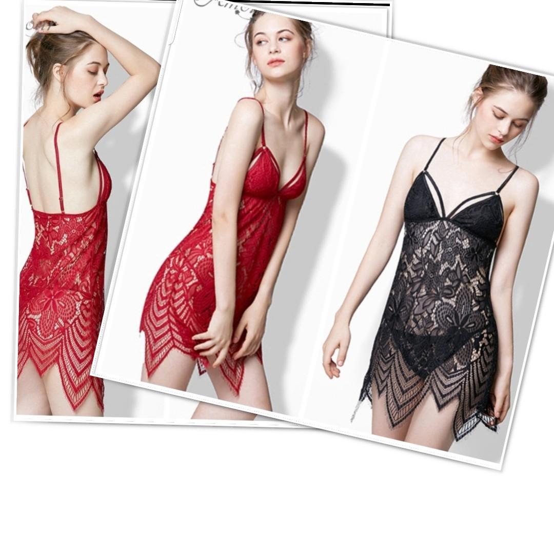 Lingerie dress nightwear sleepwear