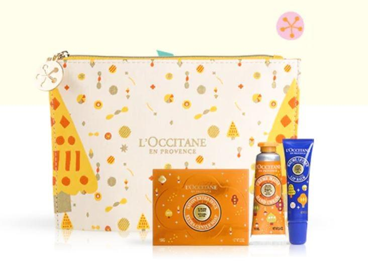 L'OCCITANE Body Care Bag (Pre-Order from Europe - Delivery on Jan 2020)