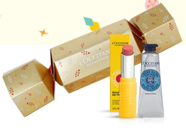 L'OCCITANE Christmas Crackers Fruity Set (Pre-Order from Europe - Delivery on Jan 2020)