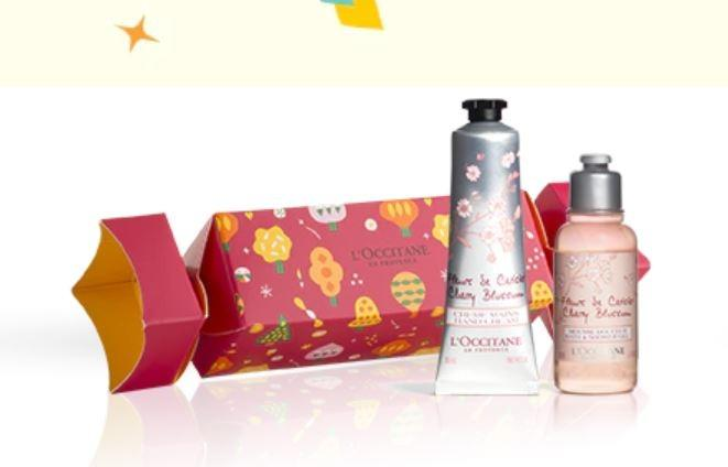 L'OCCITANE Christmas Crackers (Pre-Order from Europe - Delivery on Jan 2020)