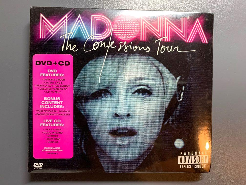Madonna [The Confessions Tour] CD+DVD