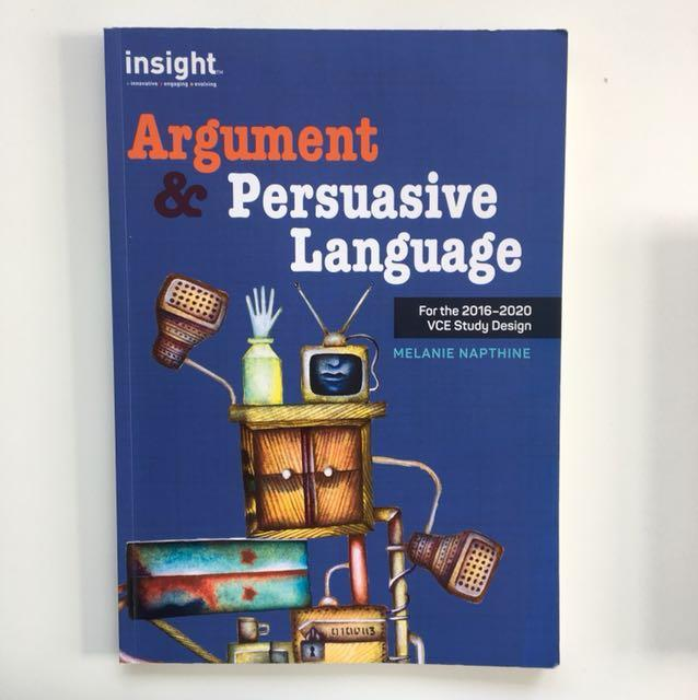 Mainstream English Argument and Persuasive language textbook