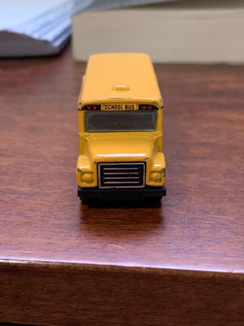 Matchbox 1985 District 2 School Bus