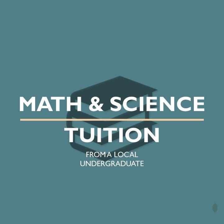 Mathematics & Science Tuition