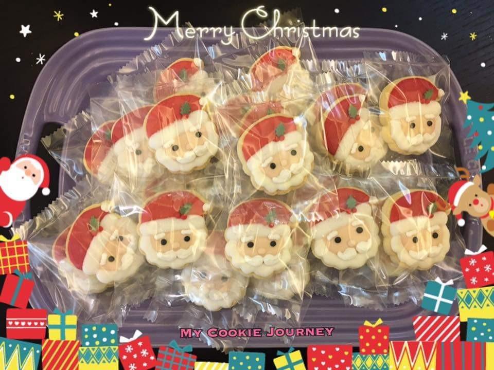 聖誕mini糖霜餅曲奇