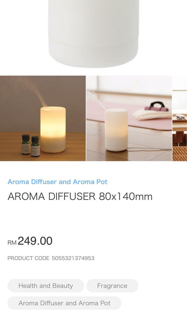 Muji diffuser aromatherapy eo