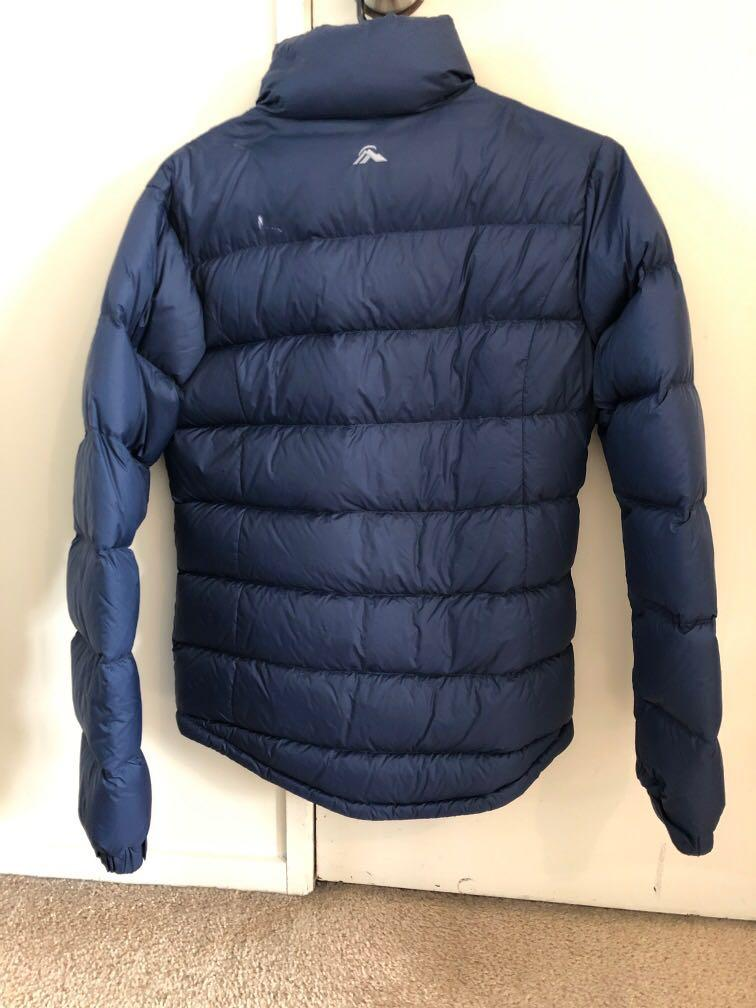 Navy blue Mac pac puffer jacket