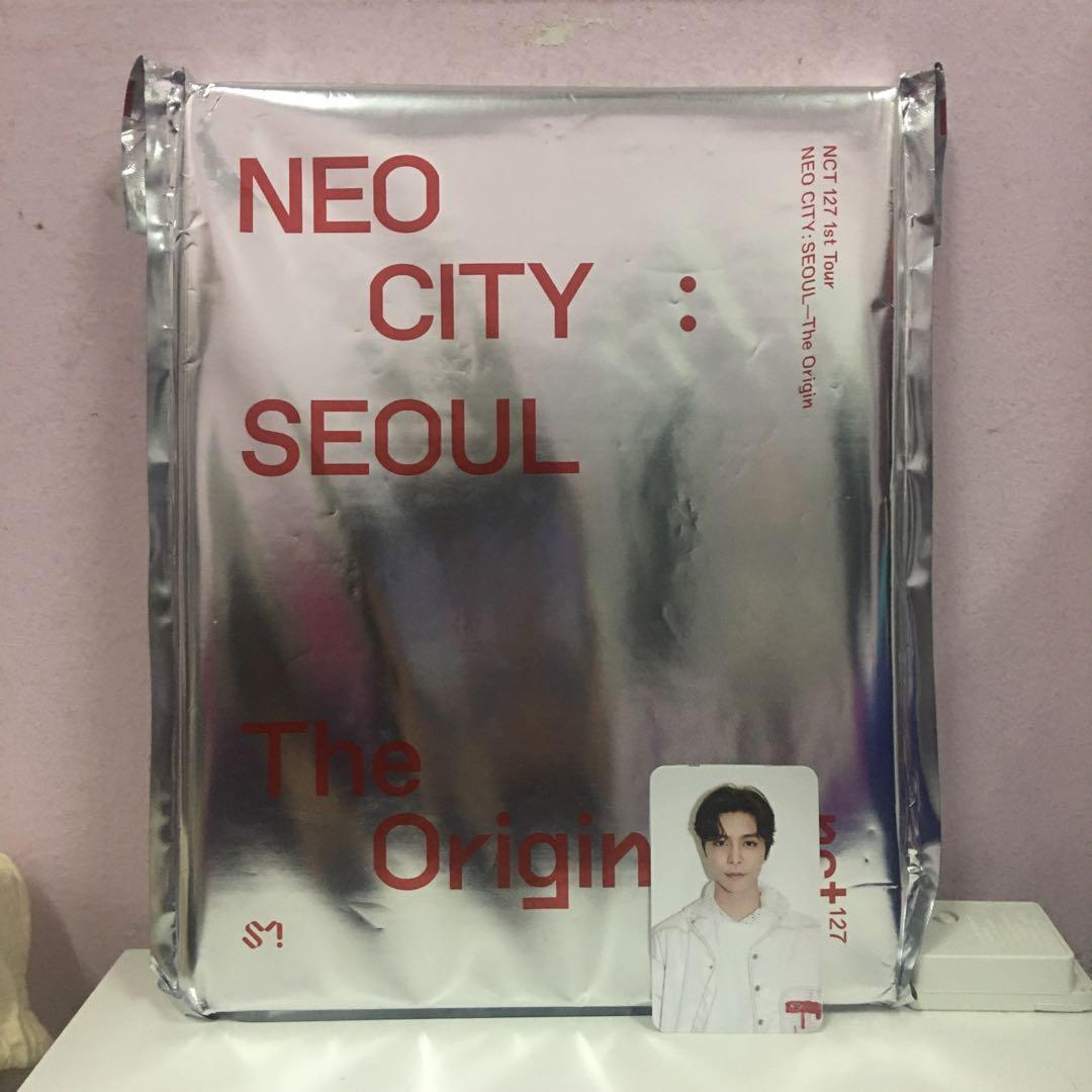 NCT 127 NEO CITY: Seoul - The Origin Concert Photobook Album