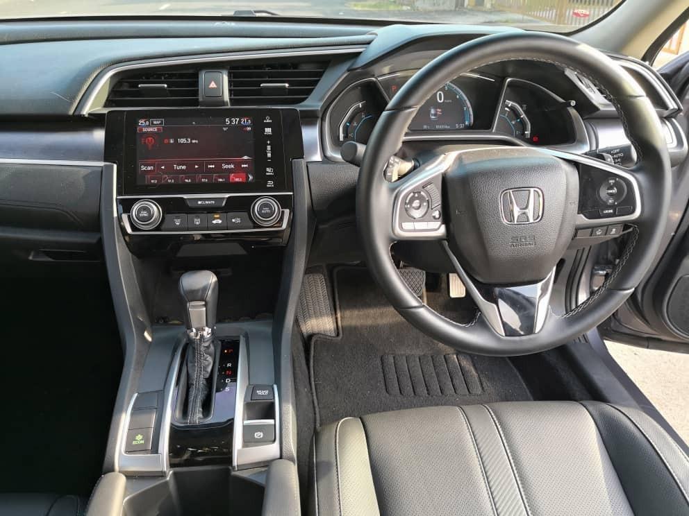 New Honda Civic Fc 1.8 (A) Kereta Sewa Selangor KL
