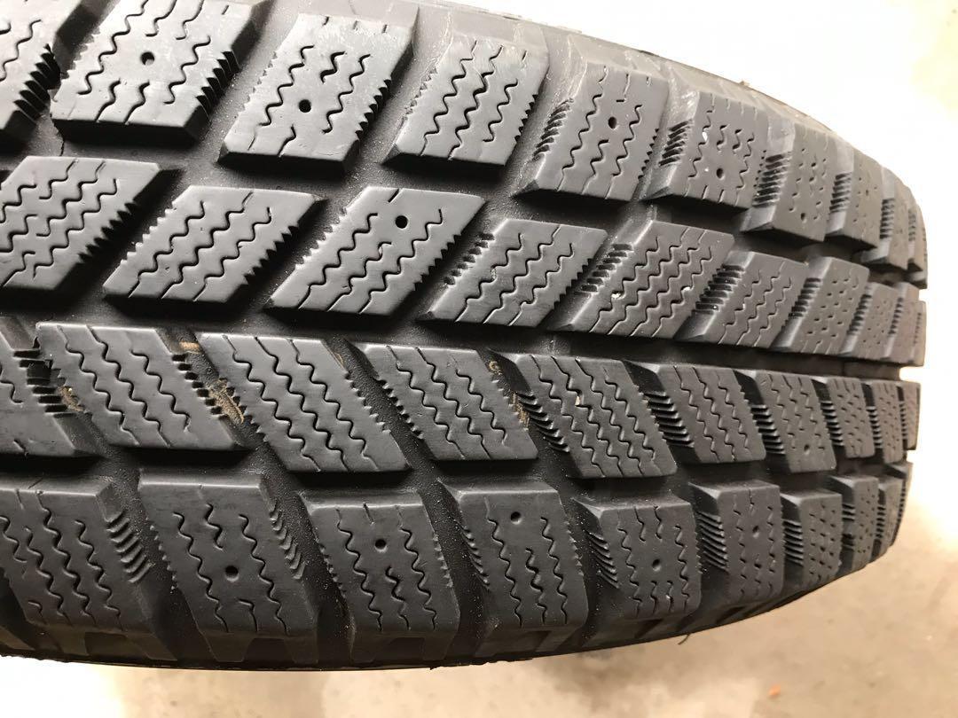NEW Winter Tires w/ Rims (4) - Hankook i*Pike RC01