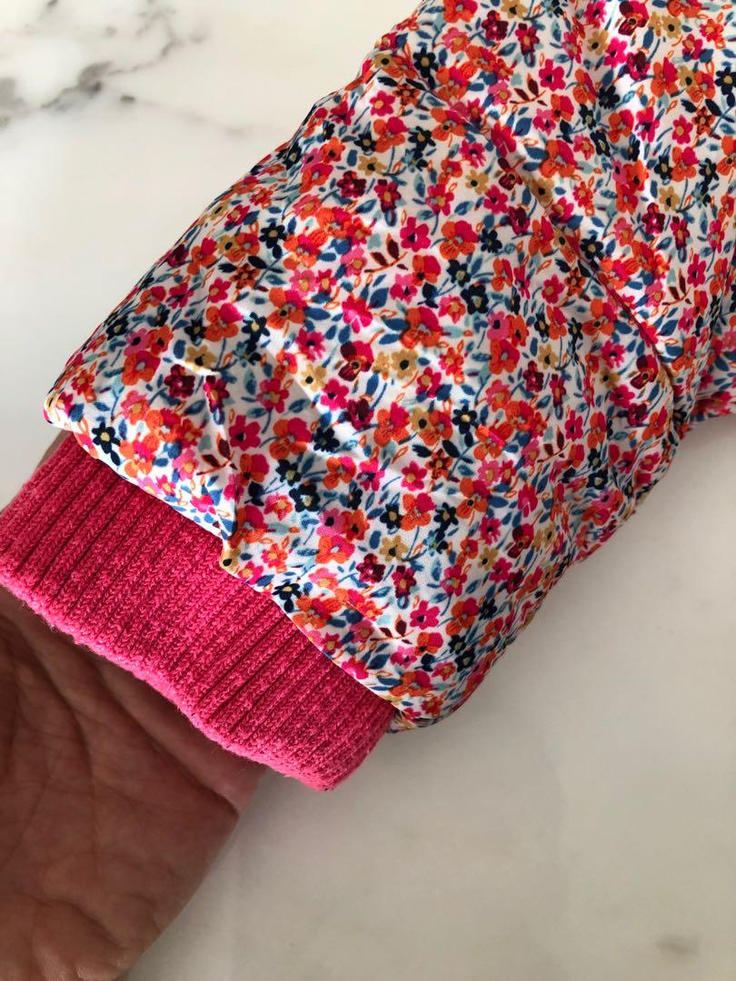 Next girls winter jacket/coat (pink)