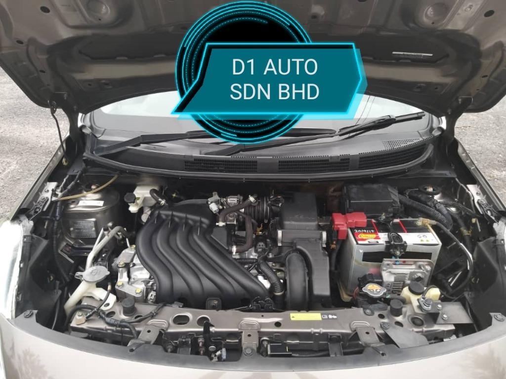 Nissan almera 1.5 at vl full spec 1owner original paint bodykit push start