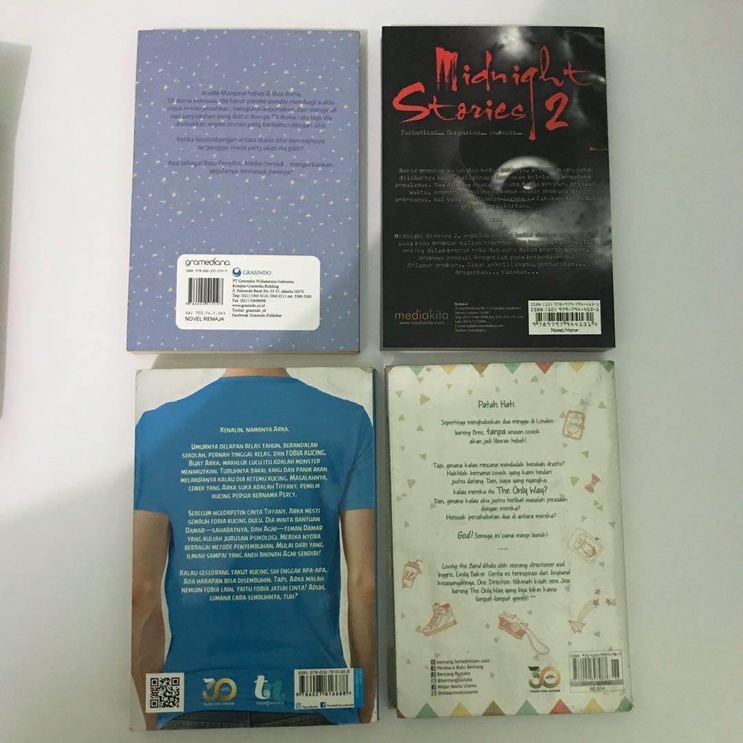 Novel preloved