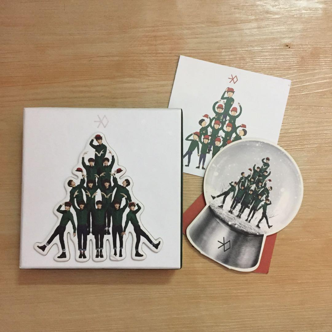 [OFFICAL] EXO Miracle In December album ( Korean Version )