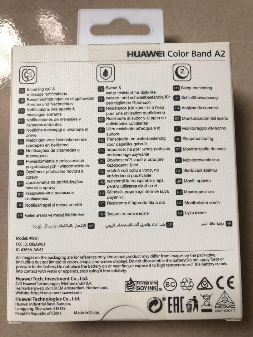 Original Huawei Color Band A2