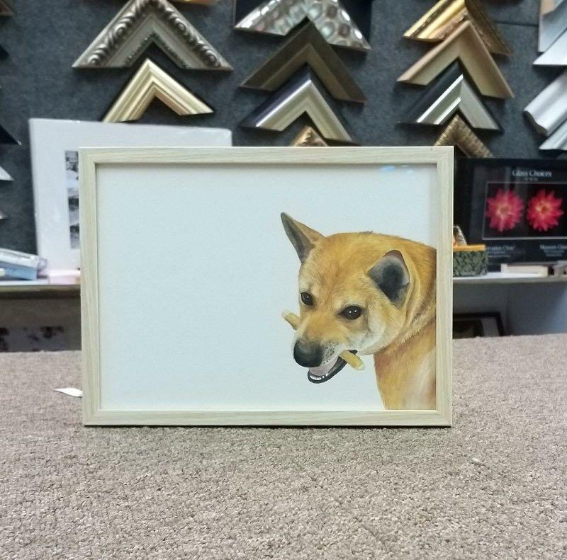 Pet portrait Frame