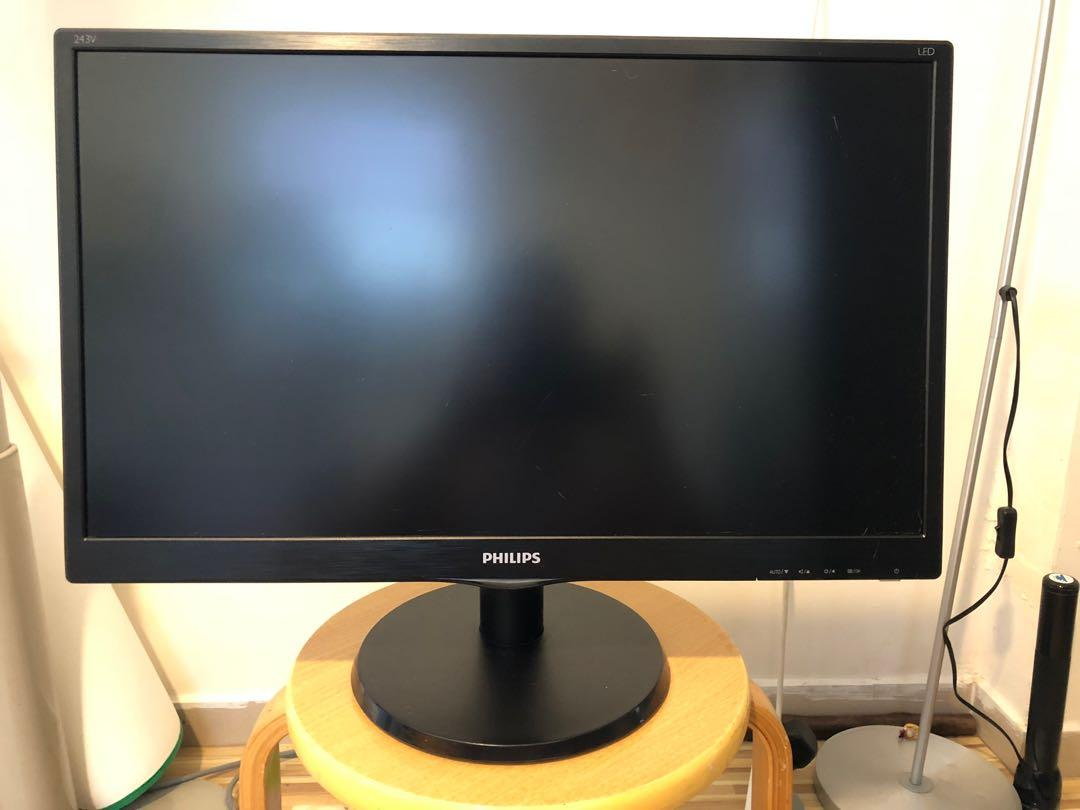 Philips 243v 24inches 24吋 PC LED Mon