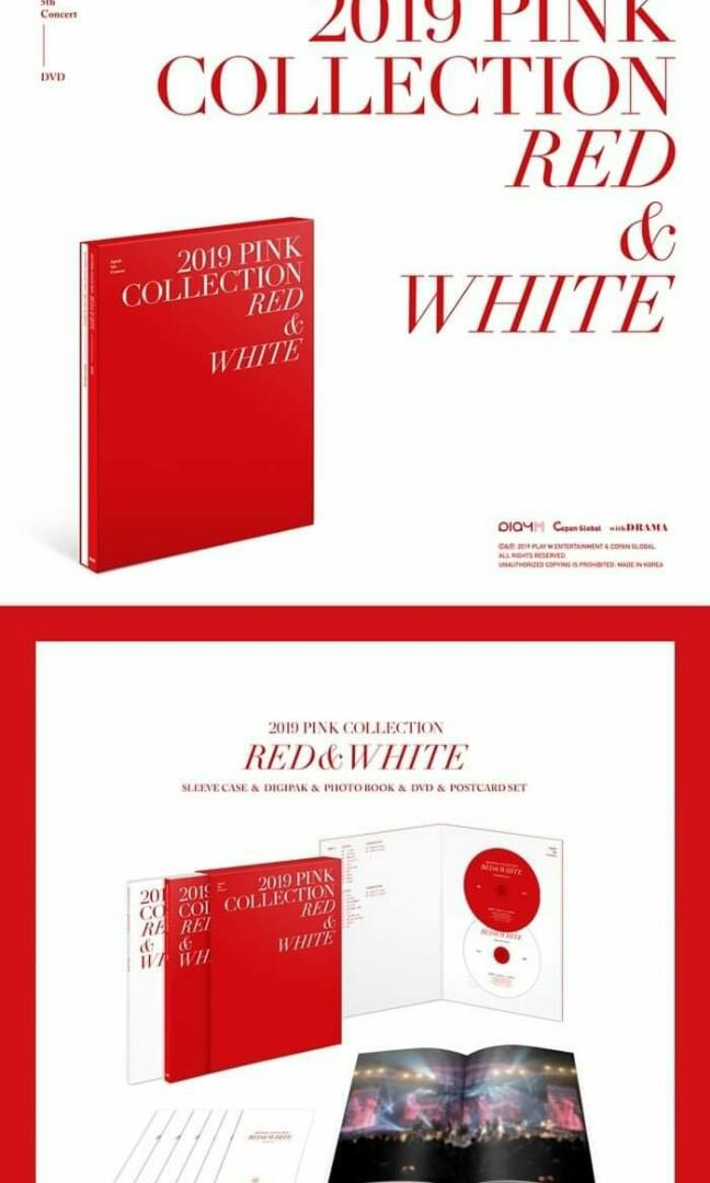 [PO] APINK 5th CONCERT PINK COLLECTION RED & WHITE