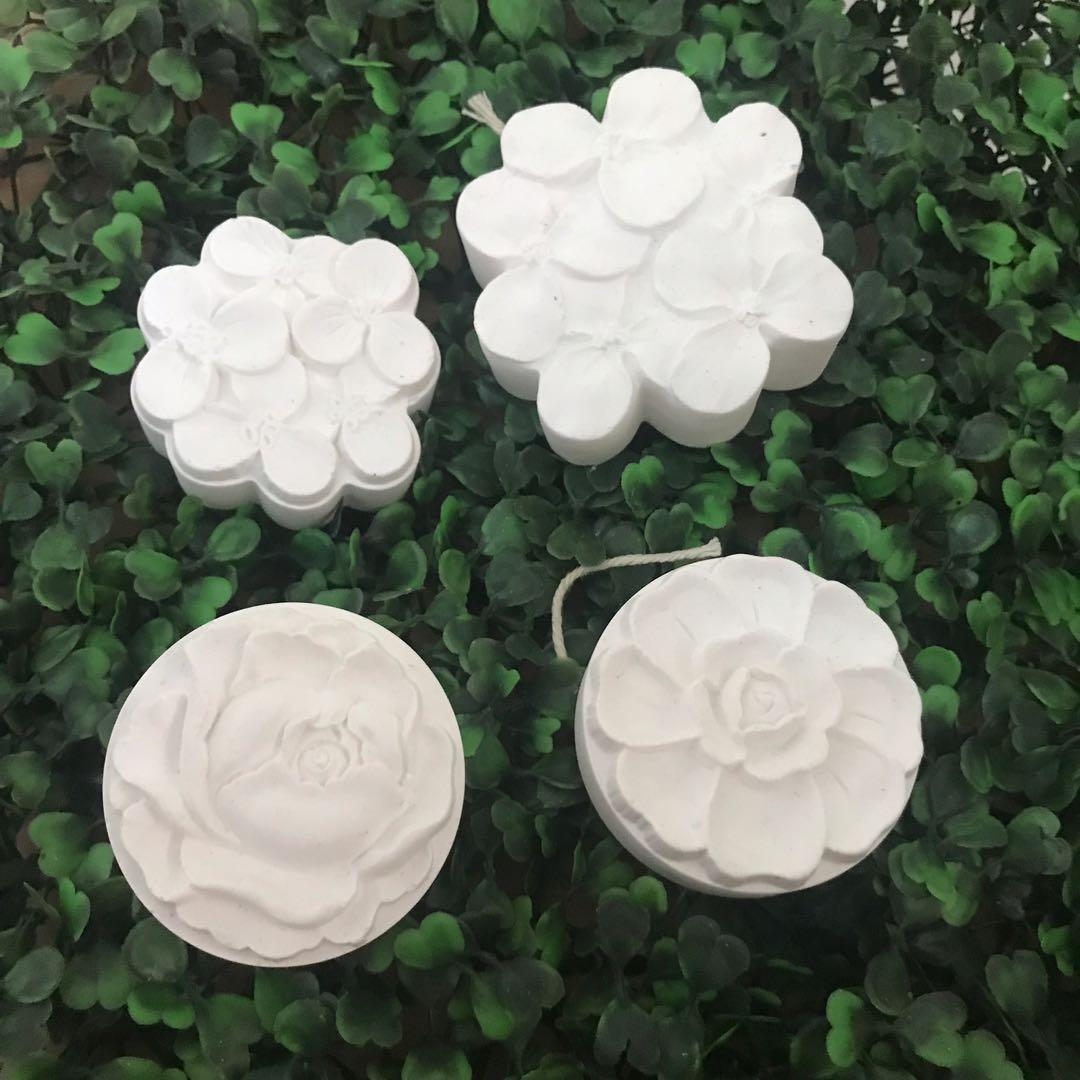 P.O. Ceramic Clay Scent aroma  diffuser flower rose