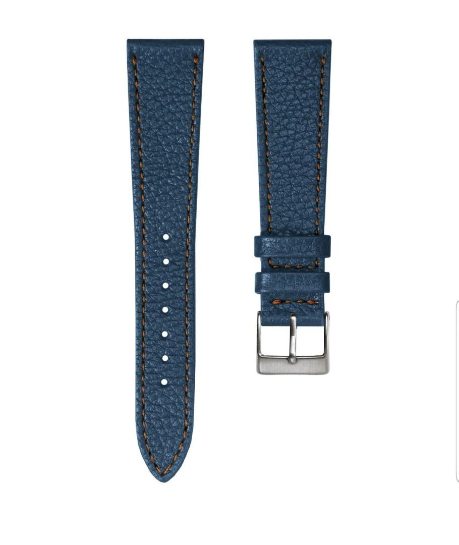 Premium Soft Top Grain Hand Made  in Spain genuine leather watch strap by Geckota