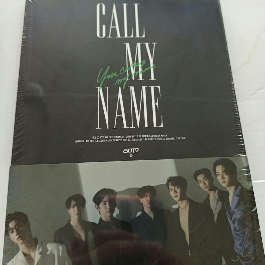 READYSTOCK:SEALED] GOT7 - Mini Album [GOT7 MINI ALBUM]