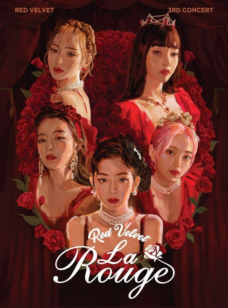 Red Velvet 3rd Concert 'La Rouge' Official Merchandise