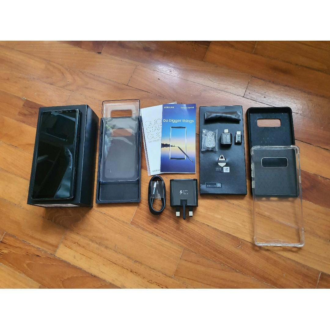 Samsung Galaxy Note 8 (64GB) w Accessories