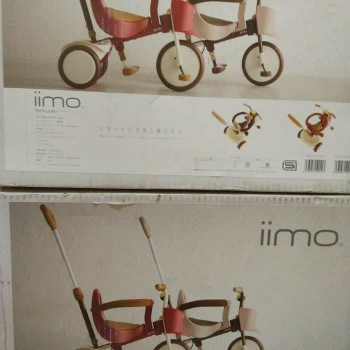 Sepeda lipat Jepang Iimo 01 Original New Segel Free Tas Iimo