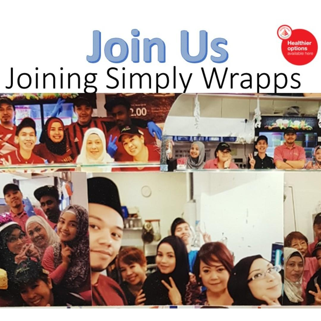 Service Crew (SIMPLY WRAPPS)