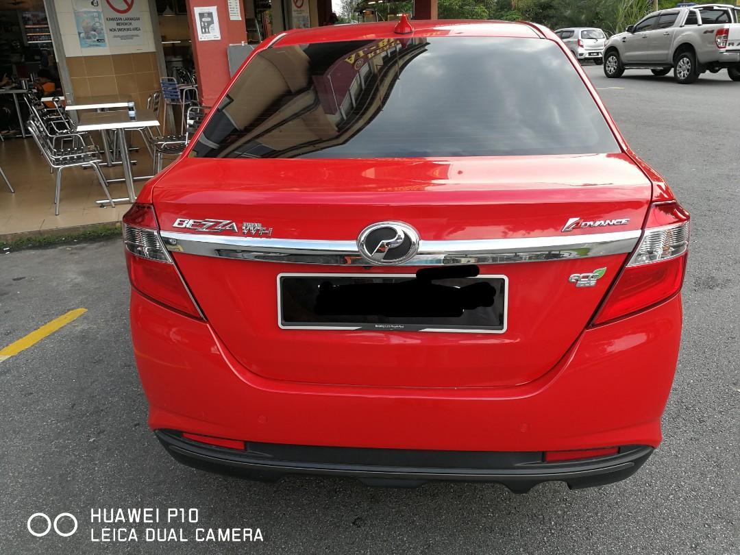 SEWA BELI>>Perodua Bezza 1.3(A) Advance  2018/March