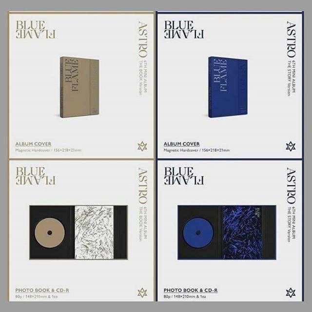 [SG G/O] ASTRO Blue Flame Album
