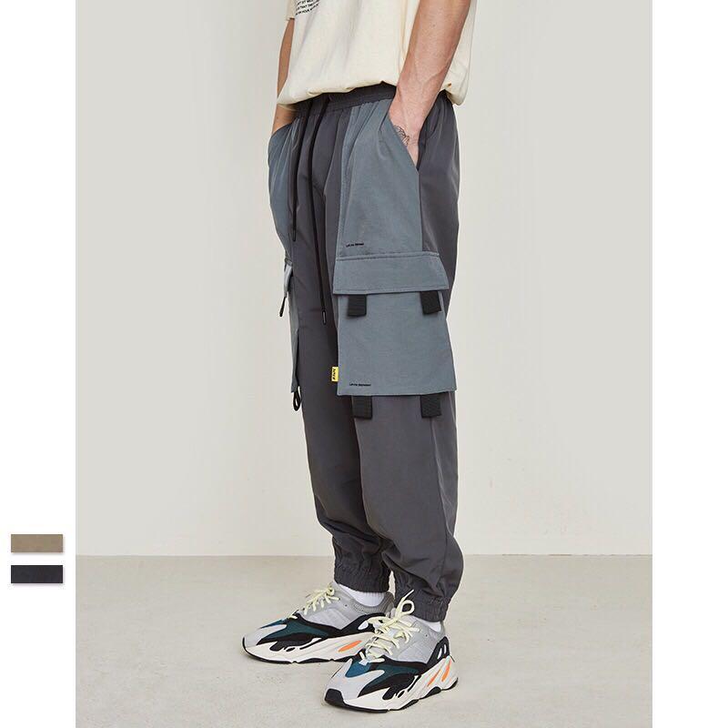 🇯🇵🇰🇷日韓系Streetwear多袋工裝褲束腳褲A