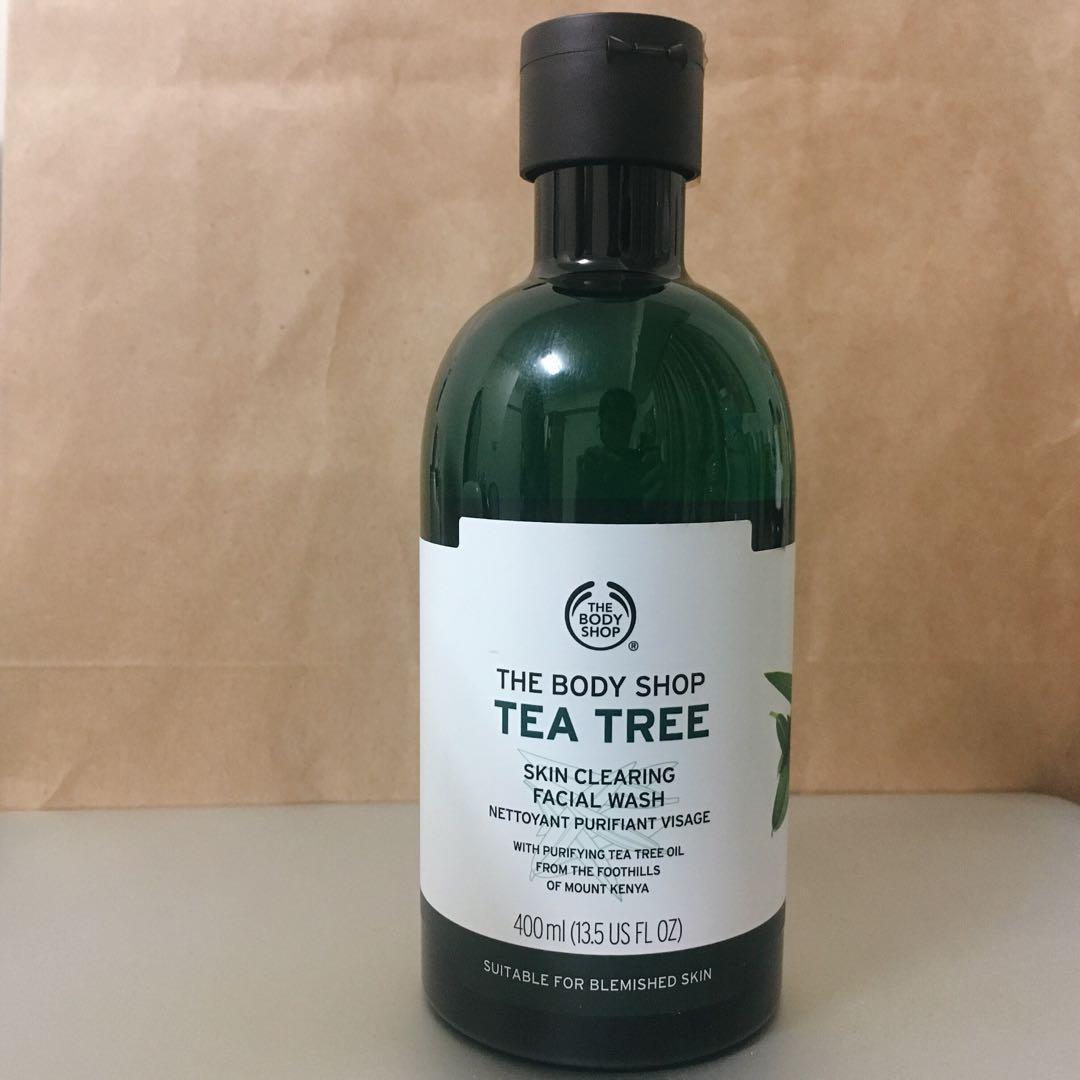 [THE BODY SHOP]美體小舖茶樹淨膚深層潔面膠