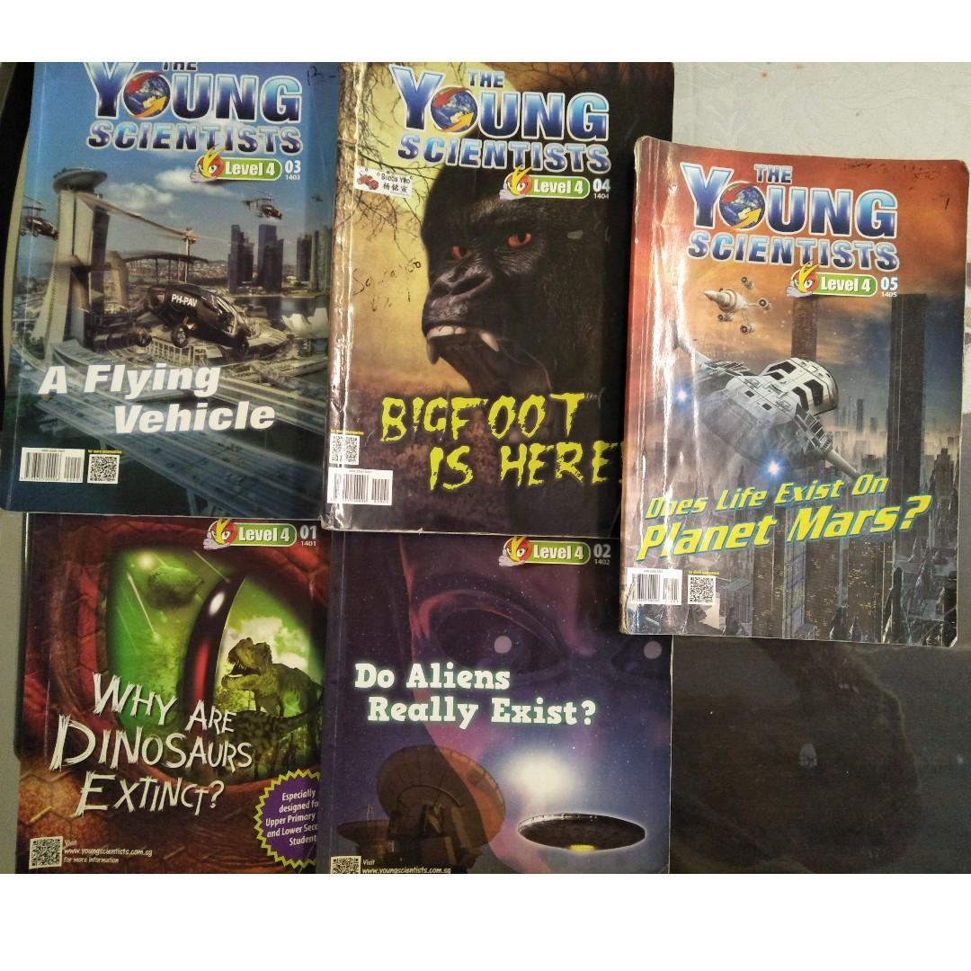 The Young Scientists Level 4 (set of 18)