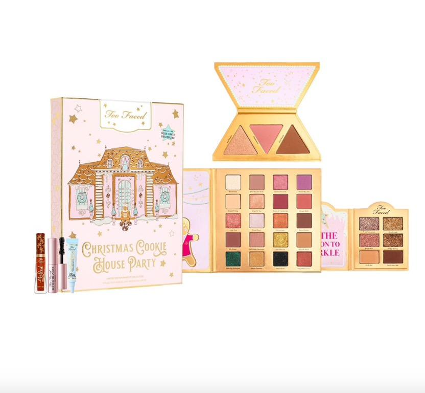 Too Faced Christmas Cookie House Party Eyeshadow Palette Christmas Set