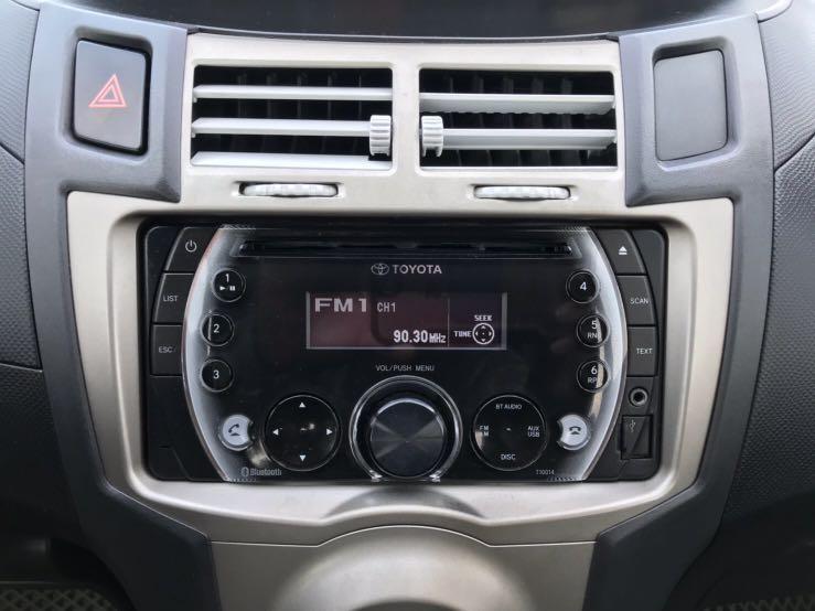 Toyota Yaris 2012年 小改款